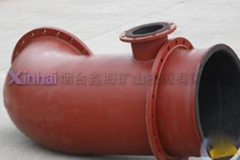Wear-resistant pipe fittings