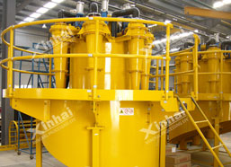 Two advantages you have to know about Xinhai hydrocyclone unit