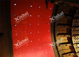 Better rubber liner, higher efficiency of ball mill