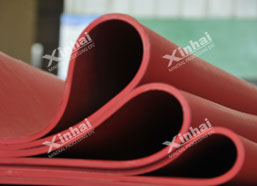 Why Xinhai wear–resistant rubber is welcomed by mineral processing industry?