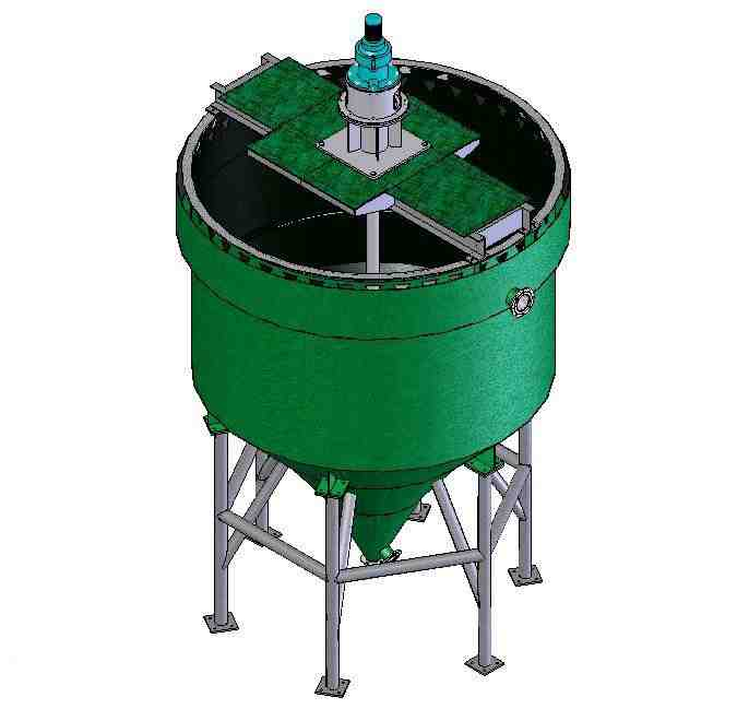 Deep and multi cone thickener